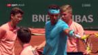 Video «Nadal, Cilic und Del Potro eine Runde weiter» abspielen