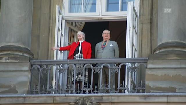 Königin Margrethes 73. Geburtstag
