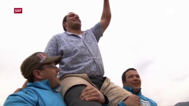 Video «Schwingen: St. Galler Kantonalschwingfest» abspielen