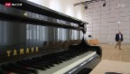 Video «Blocher als Mäzen: Musikinsel Rheinau eröffnet» abspielen