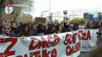 Video «Demonstrationen wegen zu mildem Urteil» abspielen