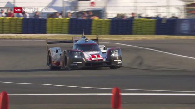 Video «Buemi und Jani überzeugen im Qualifying von Le Mans» abspielen
