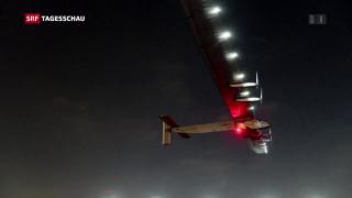Video «Letzte Etappe der Solar Impulse» abspielen