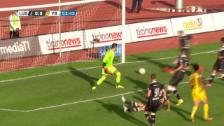 Video «Kubos Pfostenschuss gegen Lugano» abspielen