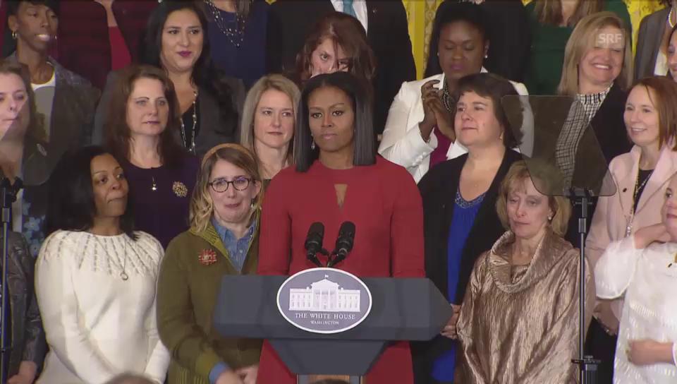 Die letzte Rede als First Lady