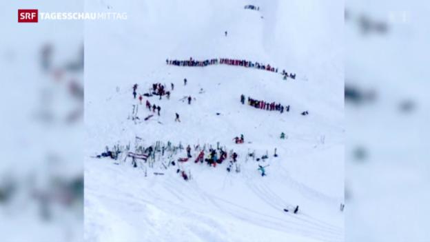 Video «Lawinenunglück bei Grenoble» abspielen