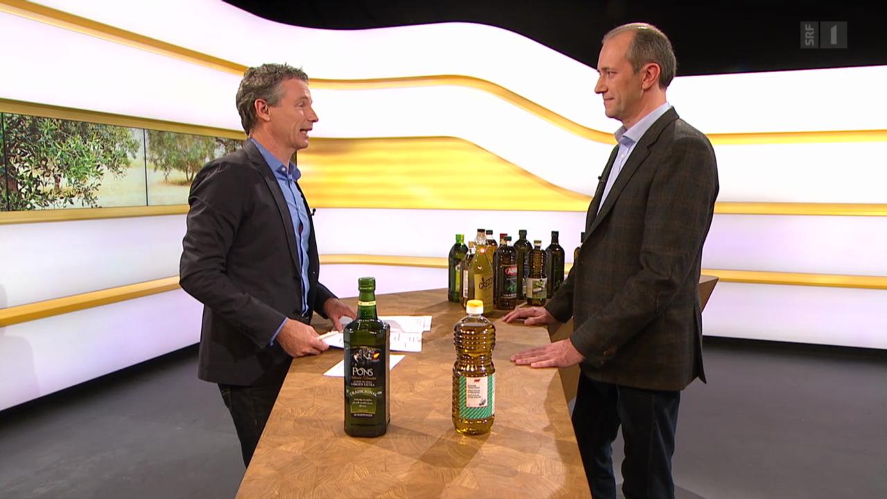 Olivenöl-Experte Philipp Notter im Studiogespräch