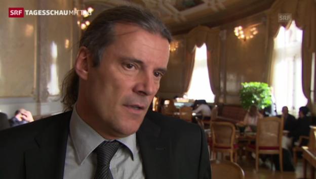 Video «Oskar Freysinger: «Für uns ist das ein ziemlicher Schlag»» abspielen