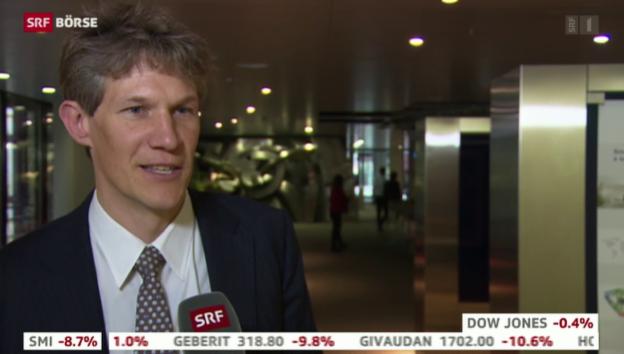 Video «SRF Börse vom 15.01.2015» abspielen