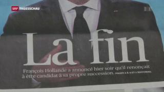 Video «Französische Sozialisten suchen Präsidentschafts-Kandidaten» abspielen
