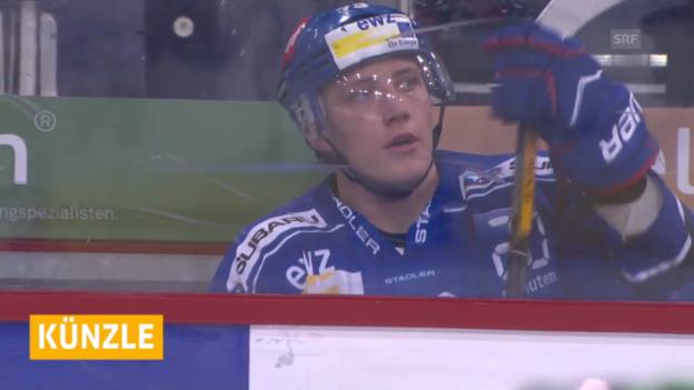 Video «Eishockey: NLA, Sperre gegen ZSC-Künzle» abspielen