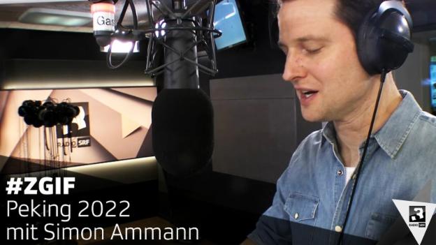 Video ««Zum Glück ist Freitag»: Simon Ammann blickt nach Peking 2022» abspielen