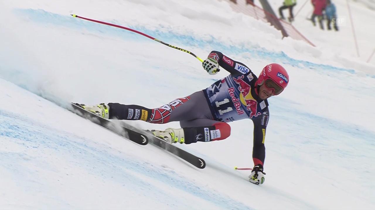 Ski: Die Fahrt von Bode Miller («sportlive», 25.01.2014)