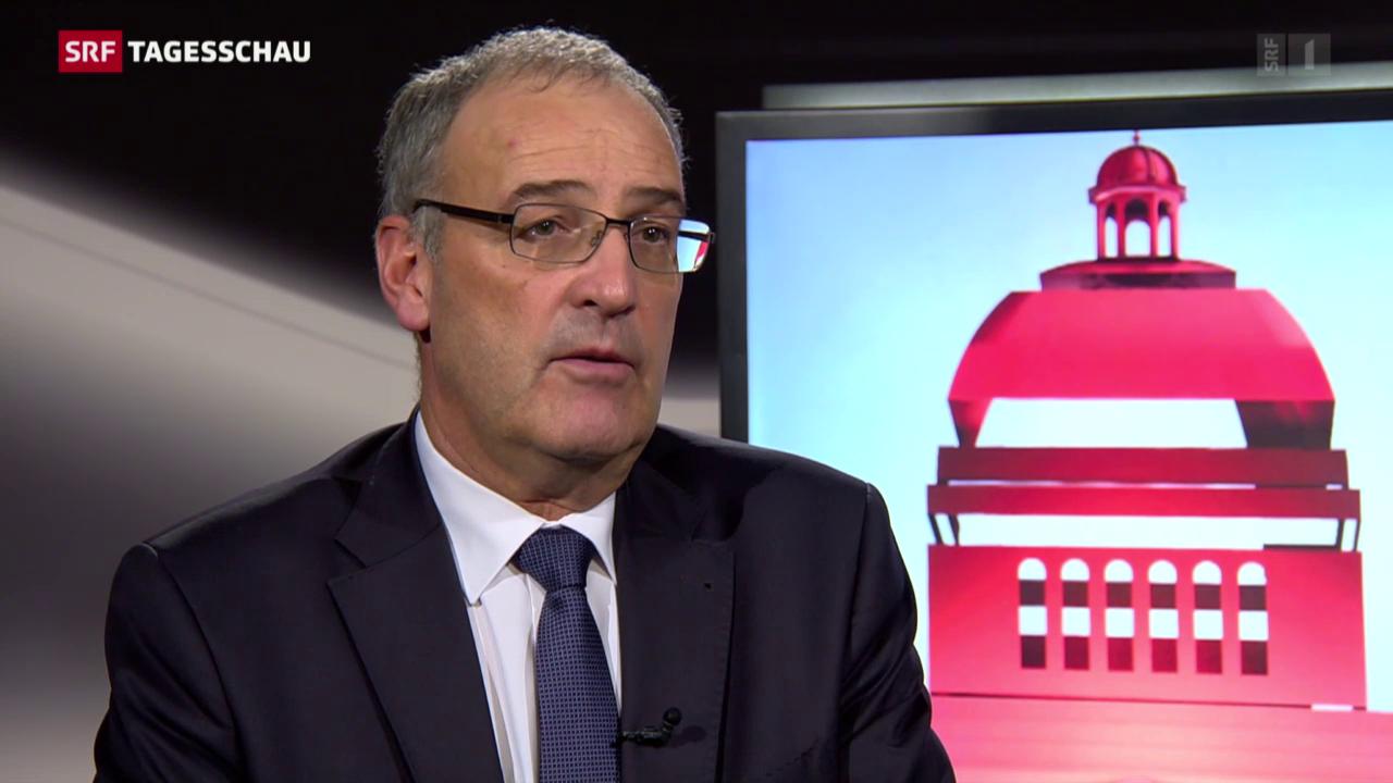 Guy Parmelin: Interessen des Landes haben Vortritt