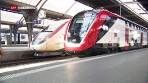 Video «SBB-Doppelstöcker auf Jungfernfahrt» abspielen