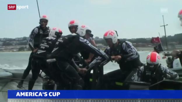 Video «4. Sieg für Team New Zealand («sportaktuell»)» abspielen