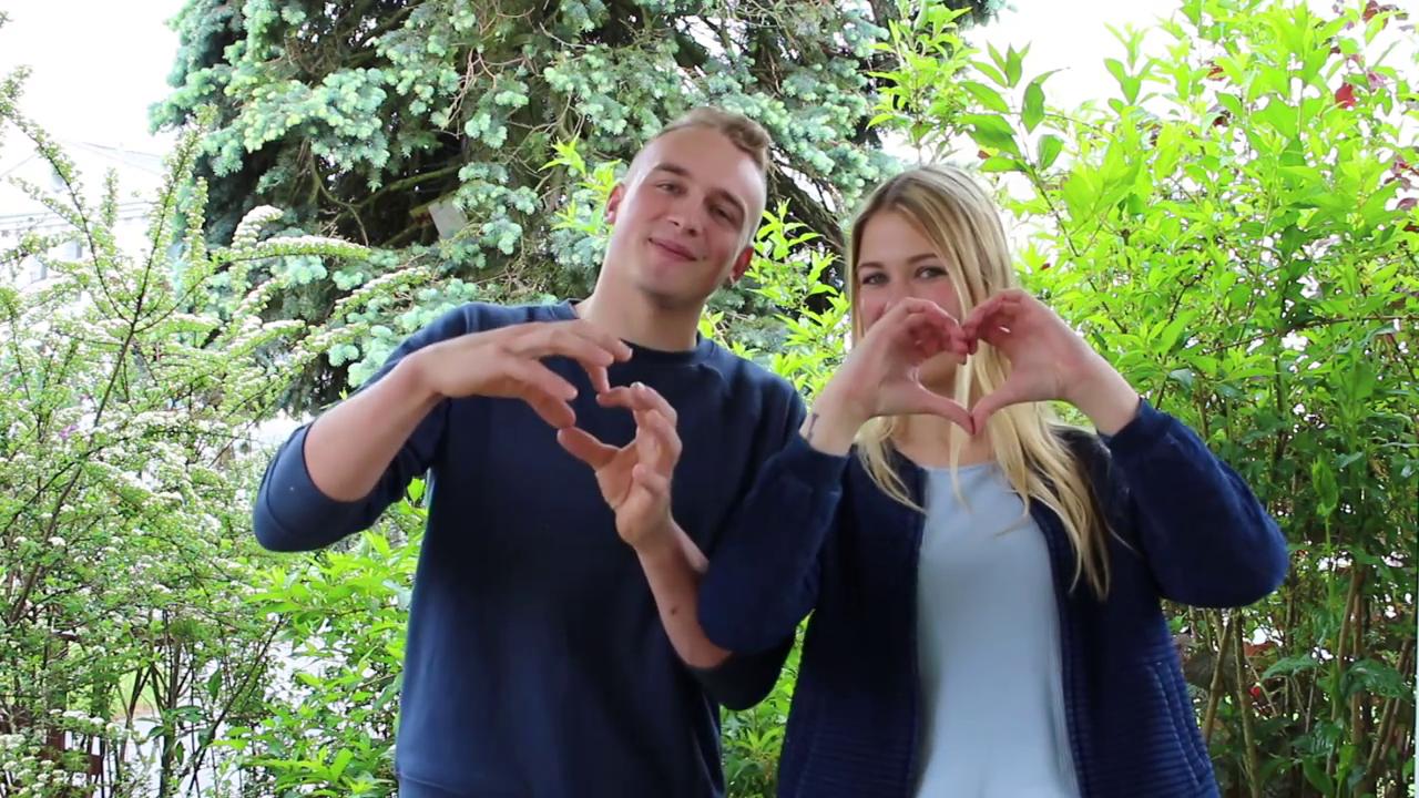 Bewerbungsvideo von Nadine und Patrick