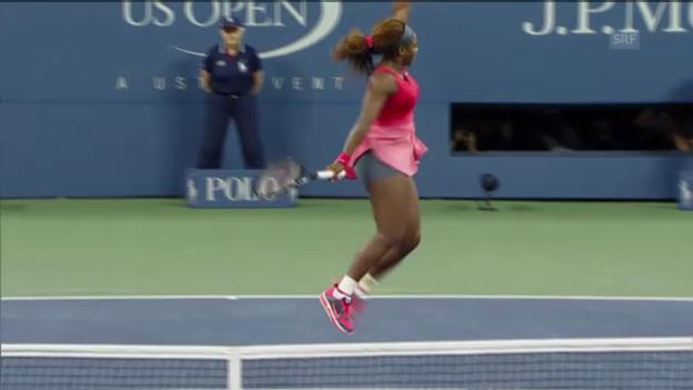 Video «Serena Williams gewinnt die US Open («tagesschau»)» abspielen