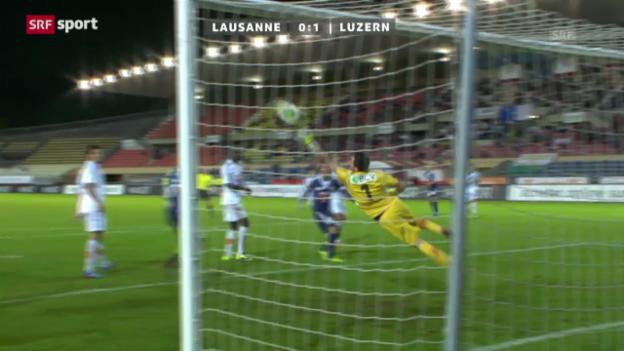 Video «SL: Lausanne - Luzern» abspielen