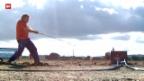 Video «Hornussen: Eidgenössisches in Lyss» abspielen