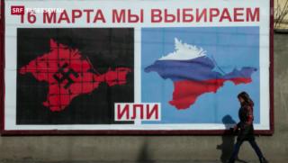 Video «Heftige Propaganda auf der Krim» abspielen
