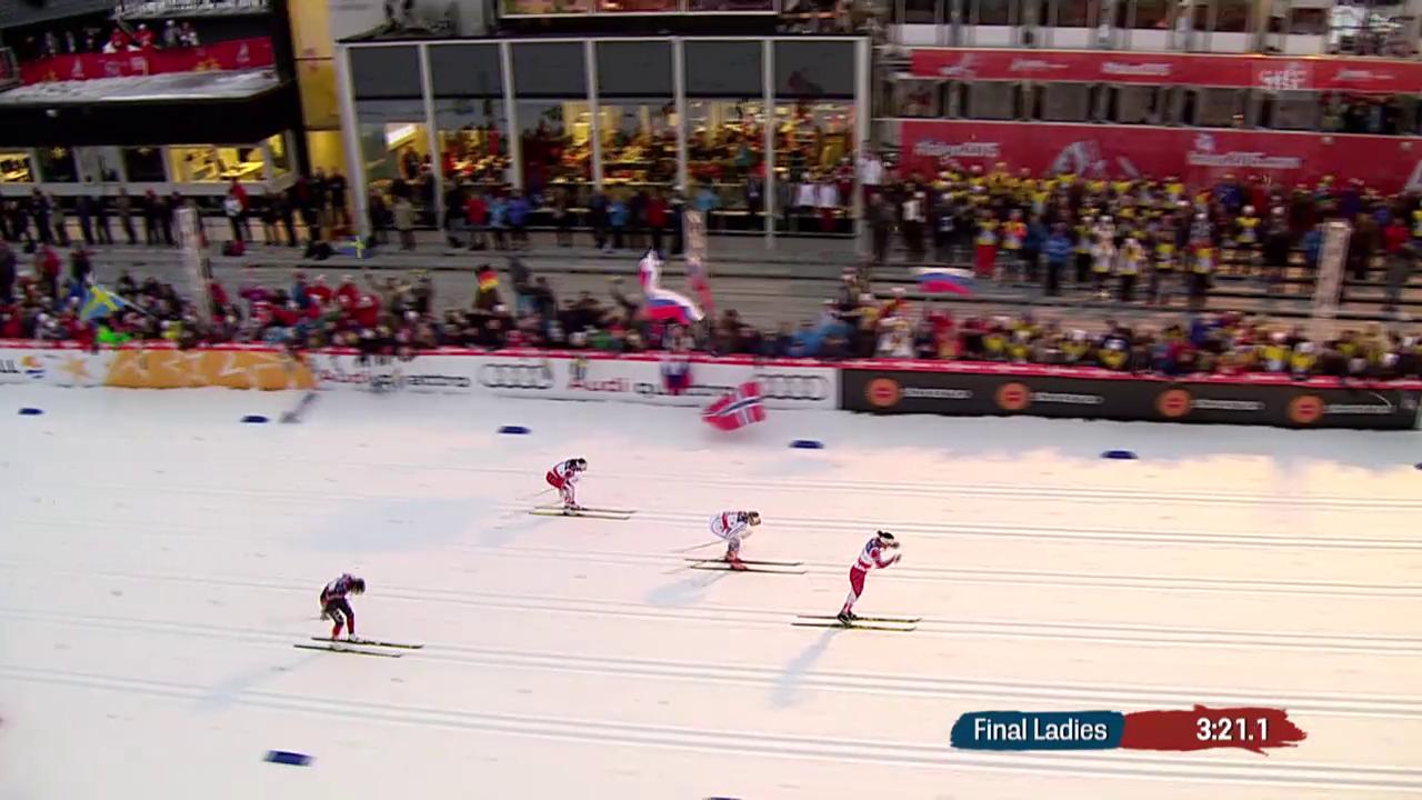 Ski nordisch: WM in Falun, Sprintfinal Frauen