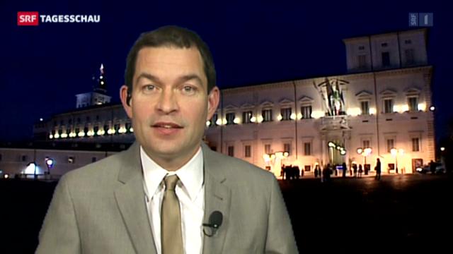 SRF-Korrespondent Philipp Zahn über Napolitanos Expertengruppen