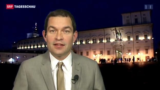 Video «SRF-Korrespondent Philipp Zahn über Napolitanos Expertengruppen» abspielen