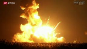 Video «Was die Explosion der NASA-Rakete für die Raumfahrt bedeutet» abspielen