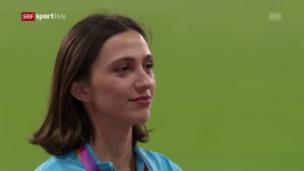 Video «Statt die russische: So klingt die IAAF-Hymne» abspielen