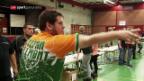 Video «Stefan Bellmont will an die Darts-Spitze» abspielen
