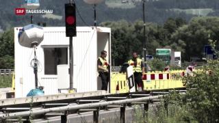 Video «Demonstrative Einigkeit der Regierung in Deutschland» abspielen