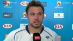 Video «Tennis: Wawrinka - Garcia-Lopez» abspielen