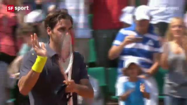 French Open: Federer - Kamke