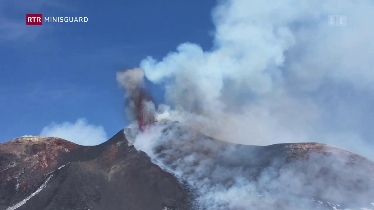 Etna – Il pli grond vulcan en l'europa spida fieu