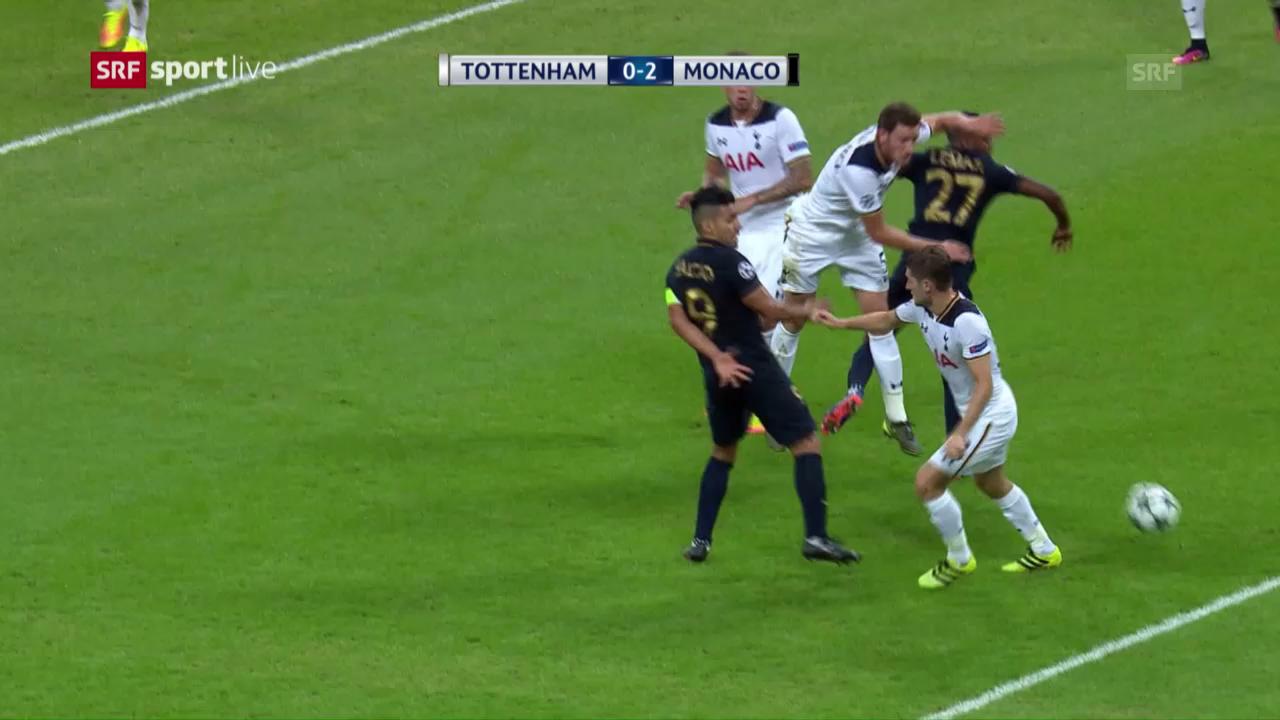 Tottenham unterliegt Monaco knapp