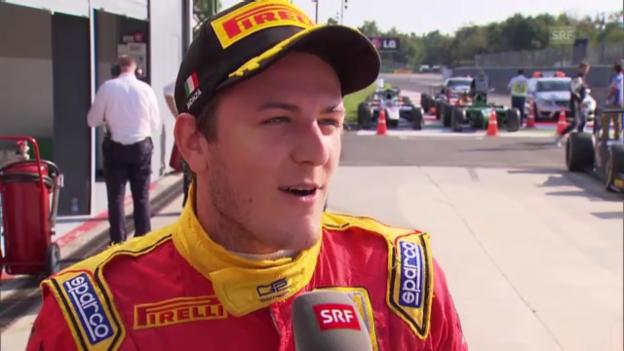 Video «Fabio Leimer im Interview» abspielen