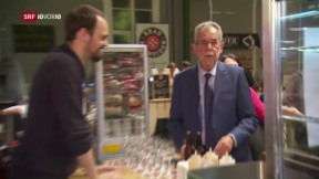 Video «Van der Bellen wird österreichischer Bundespräsident » abspielen