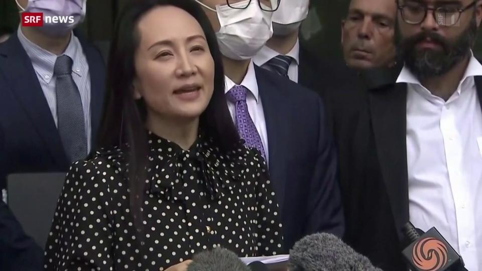Huawei-Finanzchefin Meng Wanzhou konnte aus Kanada ausreisen
