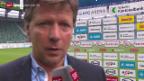 Video «Fussball: Stimmen zu St. Gallen - Luzern» abspielen