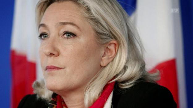 Video «Der lange Marsch der Marine le Pen» abspielen