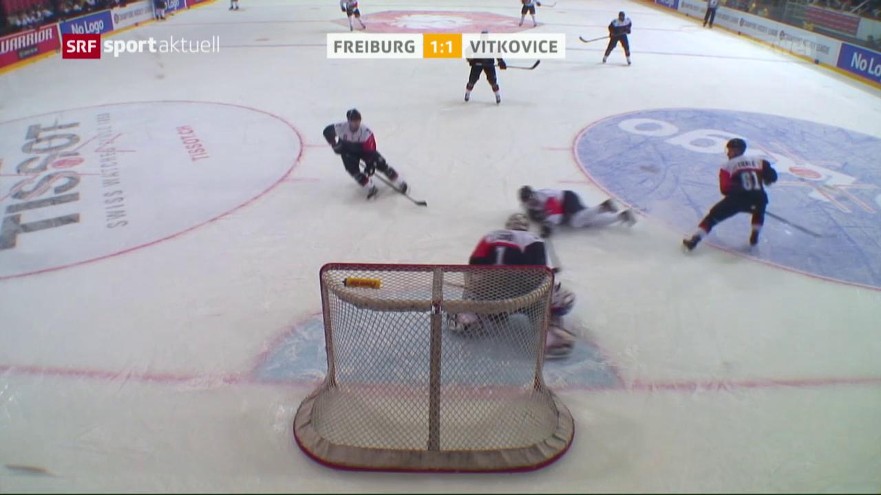 Freiburg zieht in die CHL-Halbfinals ein