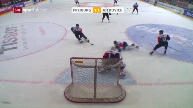 Video «Freiburg zieht in die CHL-Halbfinals ein» abspielen
