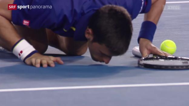 Video «11. Grand-Slam-Titel für Djokovic» abspielen