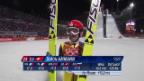 Video «Skispringen, Männer: Zusammenfassung Springen Grossschanze (sotschi aktuell, 15.2.2014)» abspielen