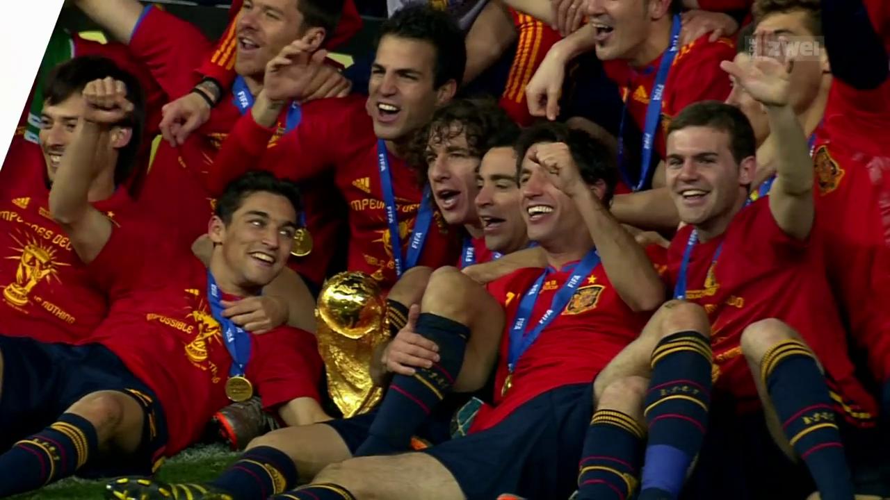 Spanien: Nach Schweiz-Niederlage zum Weltmeister