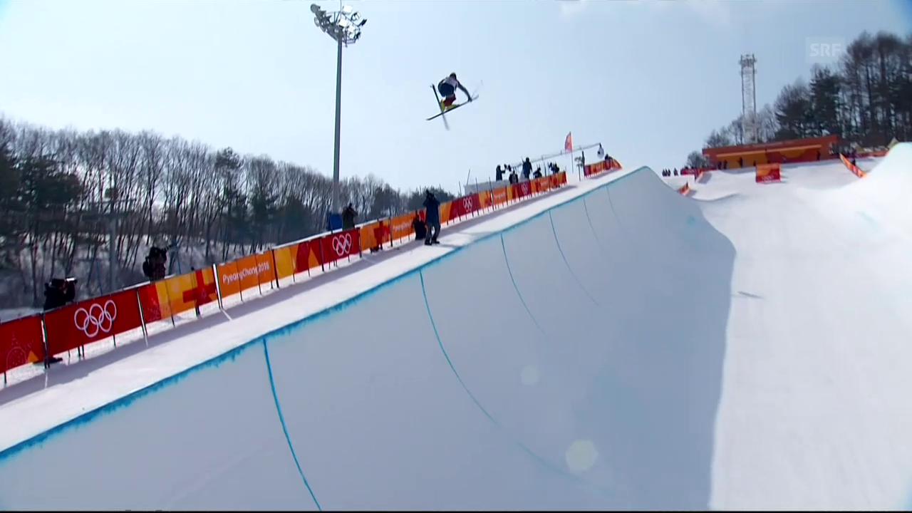 Zusammenfassung Ski-Freestyle Halfpipe