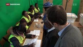 Video «Friedliche Wahl in Simbabwe mit Schweizer Hilfe» abspielen