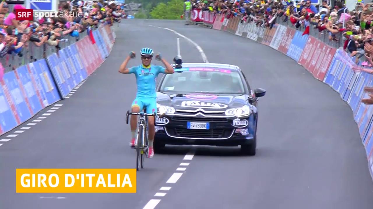 Rad: Landa gewinnt Giro-Königsetappe