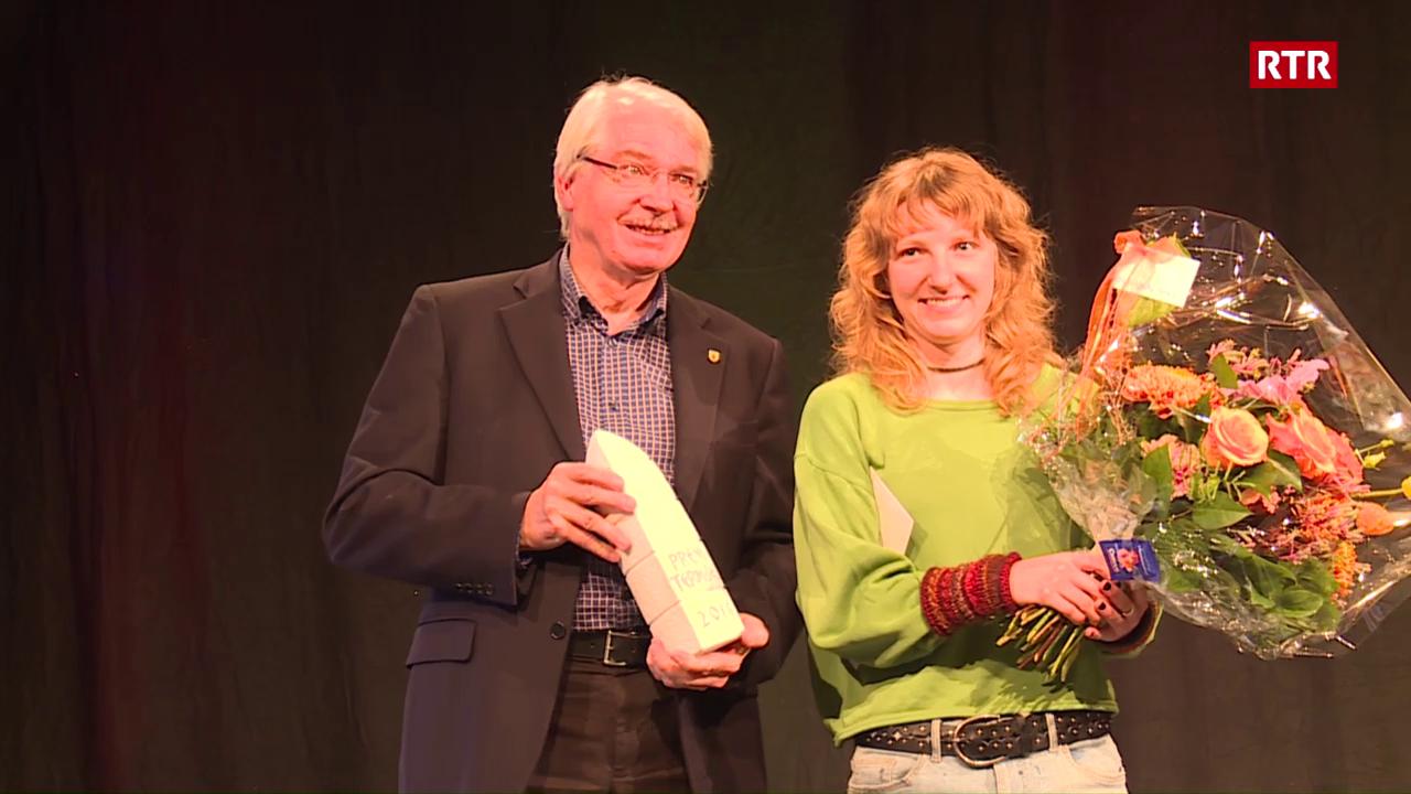 Stina Hendry gudogna il Premi Term Bel.